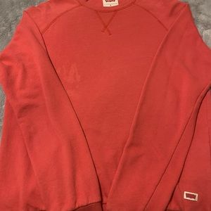 Red Levi's long sleeve